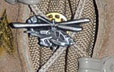 Apache Helicopter Pin